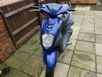 2011 Sym Simply 50cc scooter