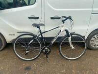 "Gents carrera sports hybrid bike 19"" alloy frame £90"