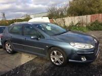 Peugeot 407 Sw diesel 2005 BREAKING FOR SPARE PARTS INTERIOR BODY ENGINE REPAIRS SALVAGE