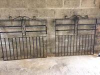 Heavy Wrought Iron Driveway Gates