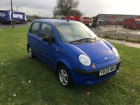 Y REG DAEWOO MATIZ 0.8 SE 5DR-NOW HAS 12 MONTHS MOT-GREAT CHEAP LITTLE RUN ABOUT READY TO DRIVE AWAY