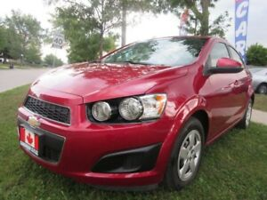 2015 Chevrolet Sonic LT Auto-BACK-UP-CAMERA-ALLOYS-BLUE-TOOTH
