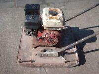 Wacker compactor plate