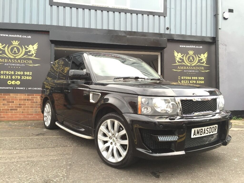 land rover range rover sport 4 4 v8 hse 5dr full. Black Bedroom Furniture Sets. Home Design Ideas