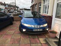 Honda Civic 1.8 I-VTEC petrol/Panoramic roof /5 door/manual 6+1/