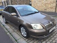TOYOTA AVENSIS 2.0 D4D T2 MODEL DIESEL 2003 YEAR GOOD RUNNER