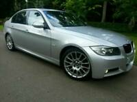 BMW 320D M SPORT EDITION*2008 58'REG*FSH*LEATHERS*NAVIGATION*I-DRIVE*SUPERB CONDN*#118D#S LINE#530D