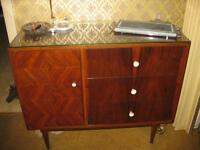 Two Identical Retro Teak And Rosewood Buffets