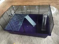 Hamster cage with lots of accessories