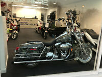 HARLEY DAVIDSON ROADKING 1600CC CUSTOM STAGE 1 ONE OFF STUNNING EXAMPLE £12000