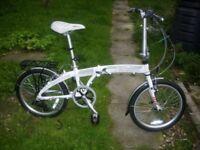 Falcon light weight alloy frame folding bike