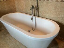 Bath and Floor standing bath mixer tap