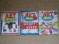 DK Art Attack Books x 3