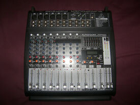 BEHRINGER PMP500 / PMP-500 , 500-Watt , 12-Channel Powered Mixer with FX Processor and USB.
