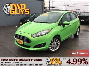 2014 Ford Fiesta SE WICKED COLOUR!!! 4 NEW TIRES BIG SCREEN RADI