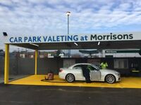 CPV at Morrison hand car wash franchises now available. Opportunities available across all UK.