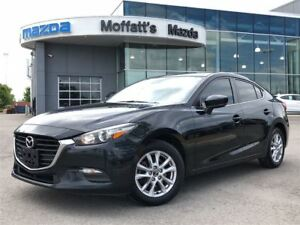 2017 Mazda Mazda3 GS-M GS MOONROOF, BLINDSPOT, HEATED SEATS/WHEE