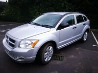 DODGE CALIBER 2007 MANUAL SILVER - BREAKING FOR SPARES - ENGINE AND MORE