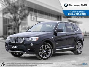 2017 BMW X3 Xdrive28i Premium Package Enhanced! Connected Driv