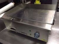 CATERING COMMERCIAL BRAND NEW FLAT GRILL TAKE AWAY FAST FOOD CUISINE RESTAURANT CAFE BAR SHOP KEBAB