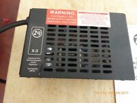 Zig X-3 Caravan/Campervan Battery Charger Used but good condition