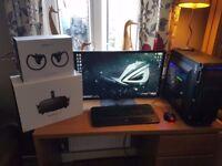 I7 6700k GTX 1080 ti GAMING PC with Oculus Rift