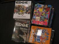 EDGE MAGAZINE 180 ISSUES (games magazine, retro game)