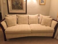 Large Cream Sofa from John Lewis. Immaculate & excellent quality