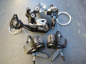 Shimano crank set and gear kit