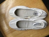 White primark shoes size 7