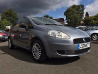 2008 FIAT PUNTO 1.2 ACTIVE *** ONLY 91000 MILES + 12 MONTHS MOT + 2 PREVIOUS OWNERS ***