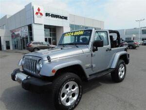 2013 Jeep Wrangler Sahara **AUTOMATIQUE**2 TOIT**4X4**