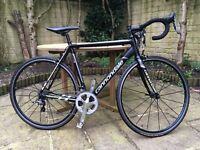 Cannondale CAAD8 Racing Road Bike - upgraded gearing and wheels