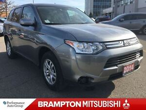 2014 Mitsubishi Outlander ES 4WD (BLUETOOTH! HEATED SEATS!)