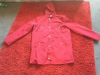 Men's red XL jacket weekend offender
