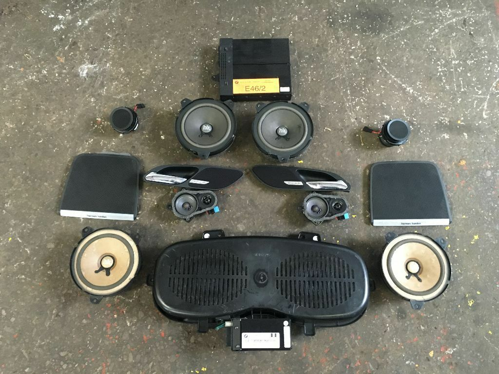 Bmw E46 M3 Coupe Harman Kardon 12 Speaker  U0026 Amp Sound System Package