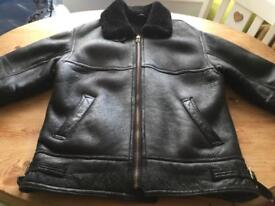 Ladies Flying Real Soft Sheepskin Leather Jacket
