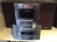 Panasonic Stereo: 5 CD Changer, Radio and Cassette player