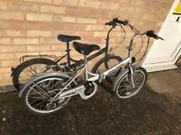 Raleigh Eclipse Folding Bike. Nice light weight frame. Free Lock, Lights & Delivery.