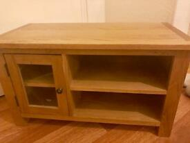 Solid Oak TV Cabinet / Stand