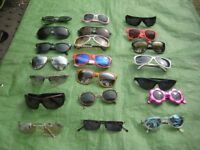 21 Pairs of Sunglasses - Any 3 pairs for £5.00