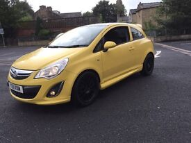 Vauxhall corsa 1.2 limited edition 2011 vxr replica 27 k fvsh 12 months test 1 owner mint car px