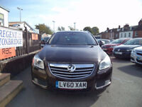 Vauxhall Insignia Estate cream leather, automatic, 4x4, tax and mot, limited edition.