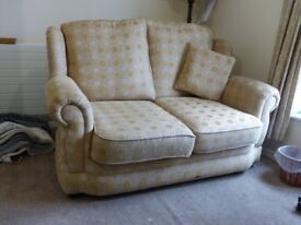 Good quality sofa and armchair in good condition