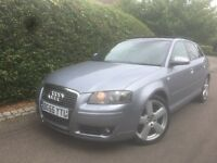 Audi A3 Rare 2.0Tdi DSG Panoromic Roof Sline Paddle shift Privcay glass