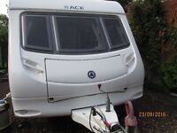 2008 ACE JUBILLEE AMBASSADOER 2 BERTH , FULL AWNING AND MOTOR MOVER