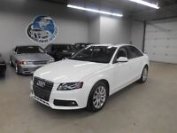 2012 Audi A4 2.0T LOADED! AWD! 58KM! FINANCING AVAILABLE