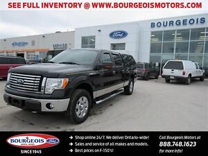 2010 Ford F-150 XLT XTR 4X4 6.5' BOX SYNC CRUISE HEATED MIRRORS