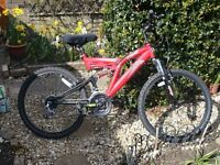 Mountain bike. Nearly new. Excellent condition.