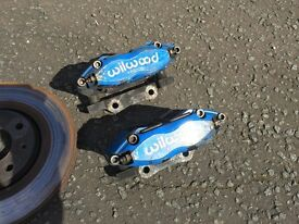 Saxo - wilwood brake set up, disc, pads, calipers, brackets